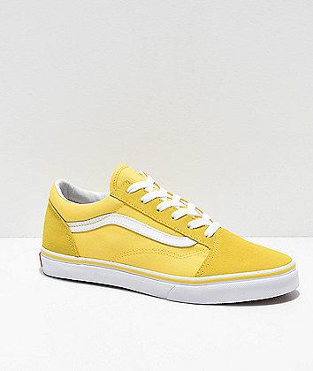 Vans Old Skool Aspen Gold & True White Skate Shoes