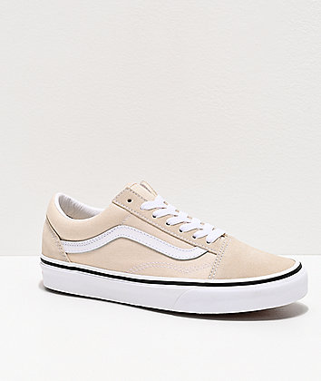 Vans Old Skool Birch & True White Skate Shoes