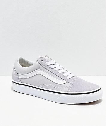 Vans Old Skool Gray, Dawn & White Shoes