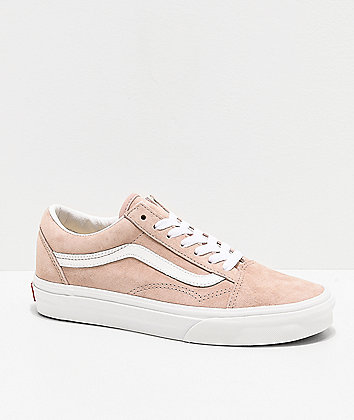 Vans Old Skool Shadow Pig Suede Skate Shoes
