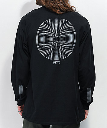 Vans Pro Skate Reflective Black Long Sleeve T-Shirt