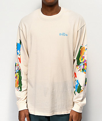 Vans Save Our Planet Natural Long Sleeve T-Shirt