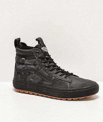 Vans Sk8-Hi MTE 2.0 DX Woodland Camo & Black Shoes