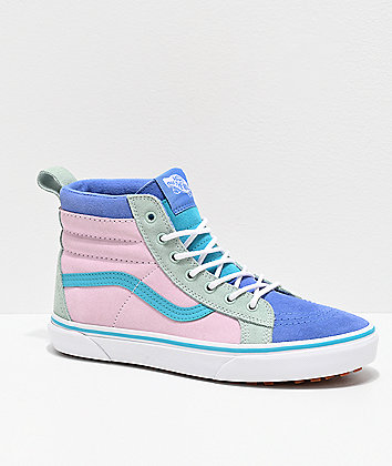 Vans Sk8-Hi MTE Ultramarine & Pink Colorblock Shoes