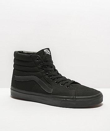 zapatillas vans mujer negras 40