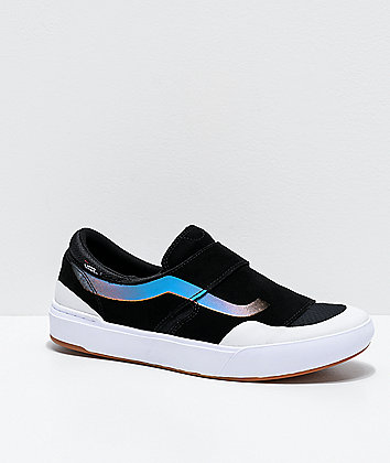 Vans Slip-On EXP Pro Black, White & Primary Skate Shoes