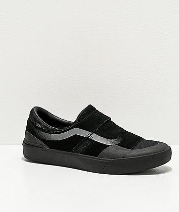 Vans Slip-On EXP Pro Blackout Skate Shoes