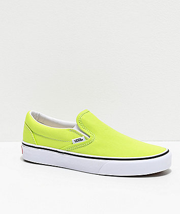 Vans Slip-On Sharp Green Skate Shoes