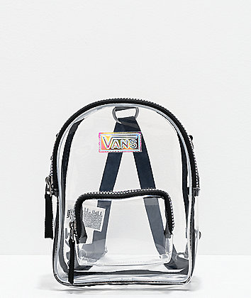 Vans Two Time Shine Clear Mini Backpack
