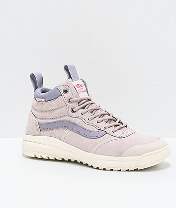 Vans UltraRange Hi MTE Moonbeam Grey & Lavender Shoes