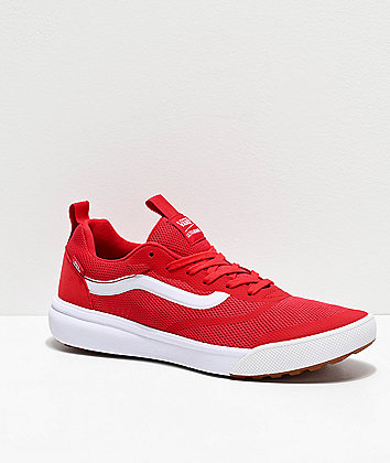 Vans UltraRange Rapidweld Red & White Shoes