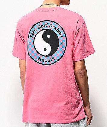 Vans x T&C Checkerboard Magenta T-Shirt