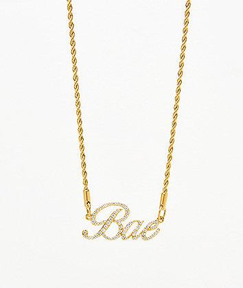 Vesso Bae Gold Women's Necklace