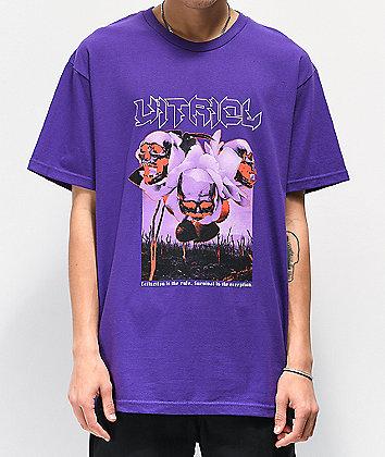 Vitriol Extinction Purple T-Shirt