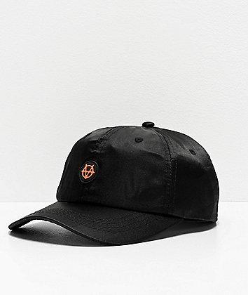 Vitriol Smoov Black Satin Strapback Hat