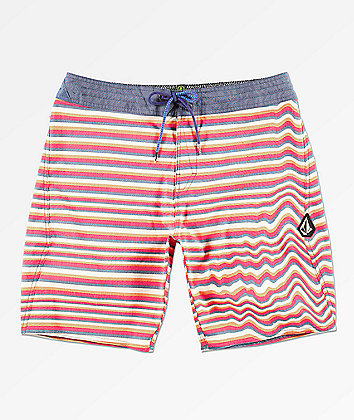 Volcom Aura Stoney Stripe Board Shorts