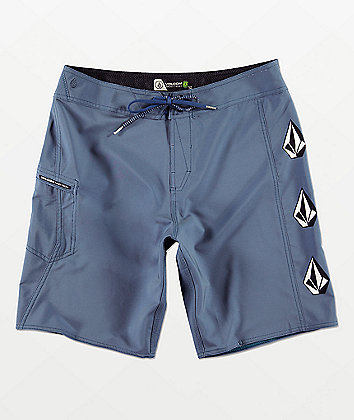 Volcom Deadly Stones Blue Board Shorts