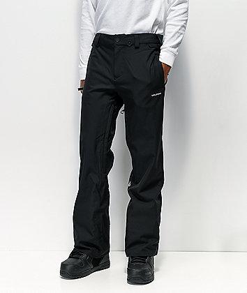Volcom Freakin Snow Chino Black 15K Snowboard Pants