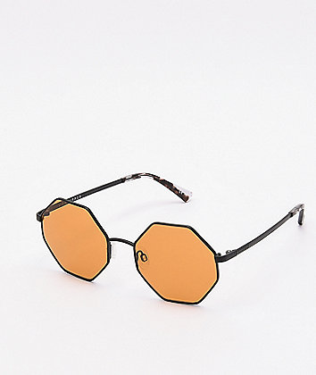 Von Zipper Pearl Black Satin Sunglasses