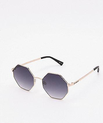 Von Zipper Pearl Gold & Grey Sunglasses