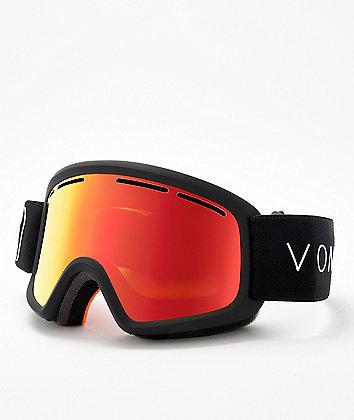VonZipper Kid's Trike Fire Chrome Black Satin Snowboard Goggles