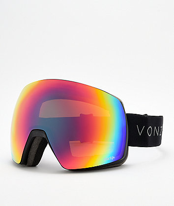 VonZipper Satellite Wildlife Black Satin Snowboard Goggles