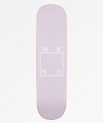 "WKND Lavender Logo 8.25"" Skateboard Deck"