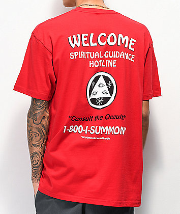 Welcome Hotline Red T-Shirt