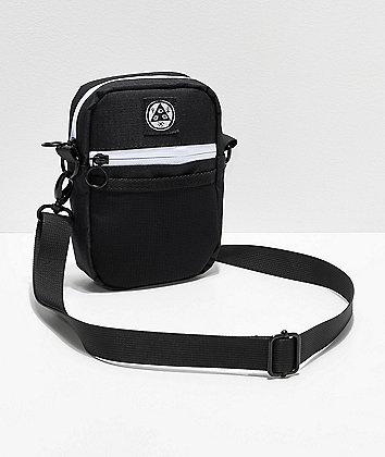 Welcome Talisman Black & White Shoulder Bag