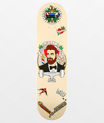 "Willy x Dappa Dan's 8.0"" Skateboard Deck"
