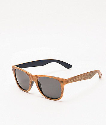 Woodway Blonde & Black Wayfarer Sunglasses