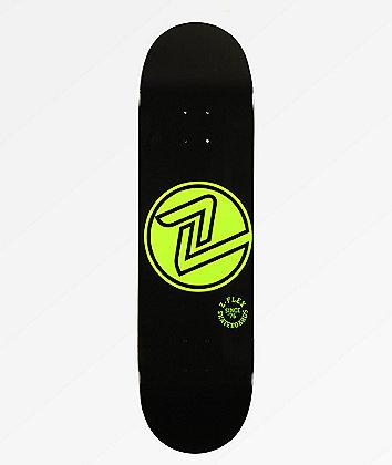 "Z-Flex OG Circle Green 8.5"" Skateboard Deck"