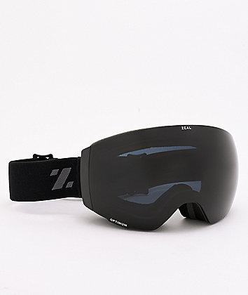 Zeal Portal Dark Knight & Dark Grey Snowboard Goggles
