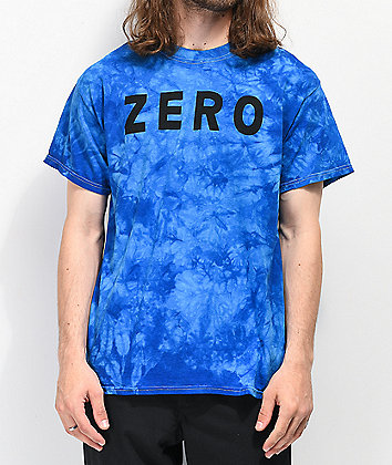 Zero Army Royal Blue Washed T-Shirt