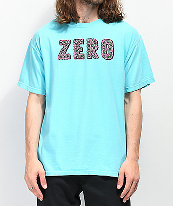Zero Evil Eyes Light Blue T-Shirt