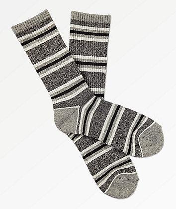 Zine Motion Heather Grey Crew Socks