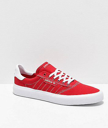 adidas 3MC Red & White Shoes