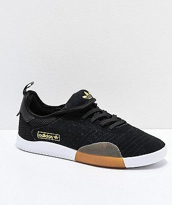 adidas 3ST.003 Black Granite & White Shoes