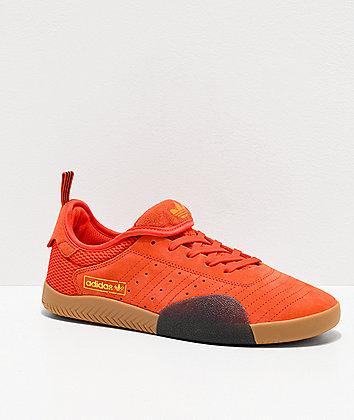 adidas 3ST.003 Orange, Black & Gum Shoes