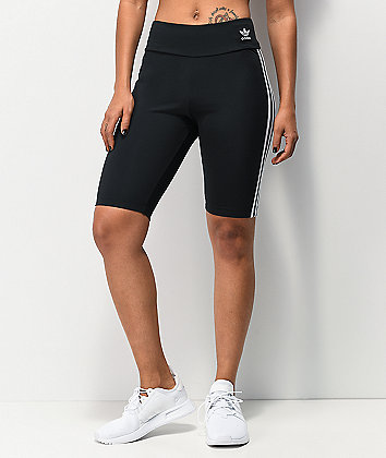 adidas Black Bike Shorts