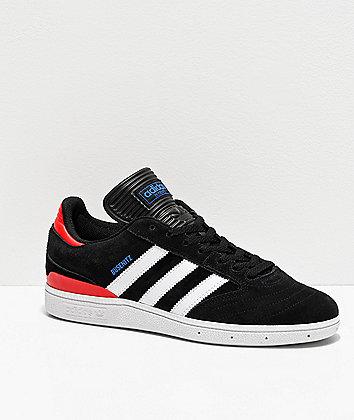 adidas Busenitz Pro Black, White, Red & Blue Shoes