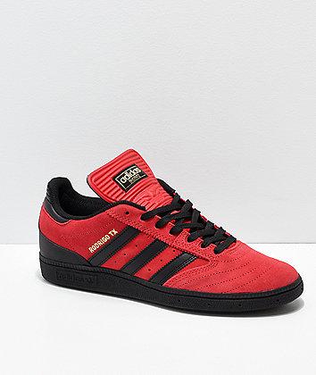 adidas Busenitz Rodrigo TX Red & Black Shoes