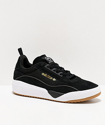 adidas Liberty Cup Black, White & Gum Shoes