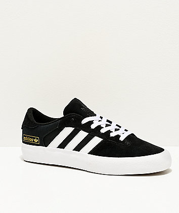 adidas Matchbreak Super Black & White Shoes