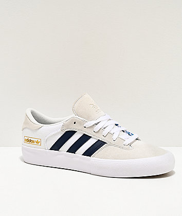 adidas Matchbreak Super White & Navy Shoes