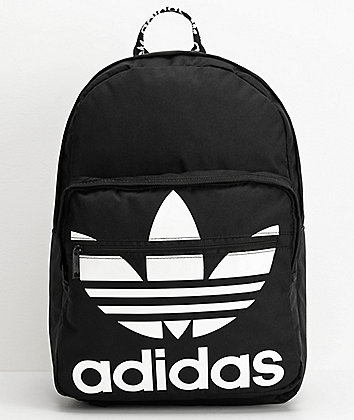 adidas Original Trefoil Pocket Black Backpack