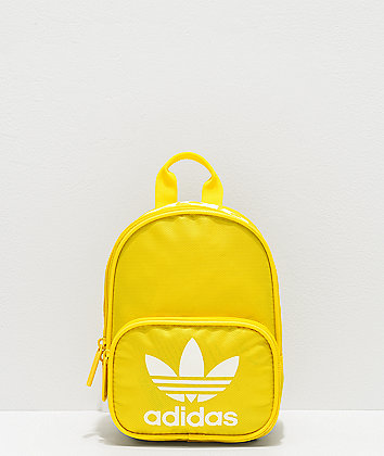 adidas Originals Santiago Yellow Mini Backpack