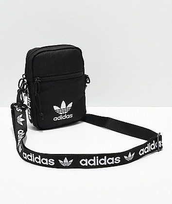 adidas Originals bolso de hombro negro