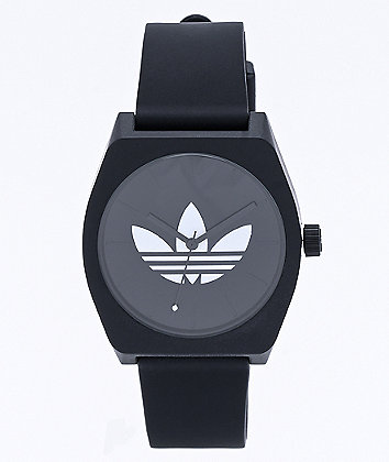 adidas Process SP1 Trefoil Black & White Analog Watch