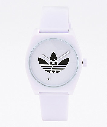 adidas Process SP1 Trefoil White Analog Watch